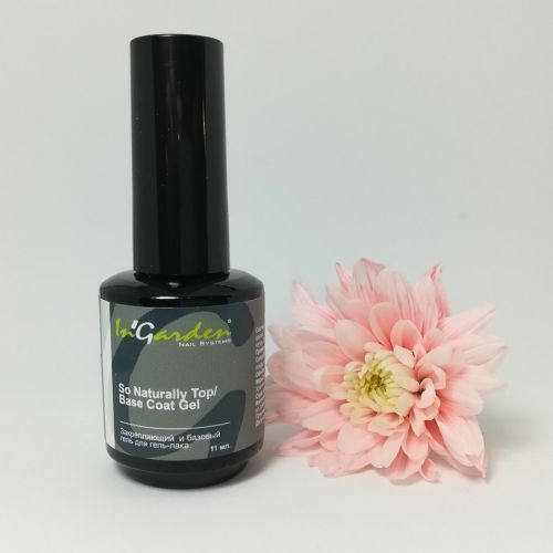 In'Garden, Top/Base Coat gel - Топ и база (11 мл)
