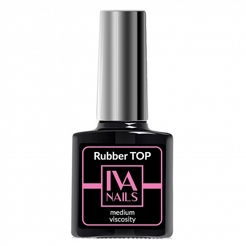 Iva Nails, Rubber Top Medium Viscosity (8 мл)