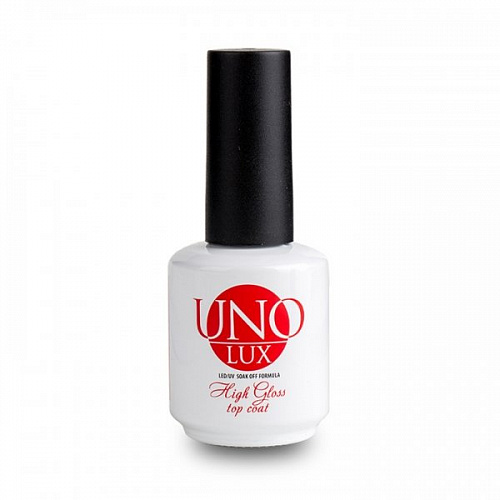 Uno, Uno Lux High Gloss Top Coat (15 мл)